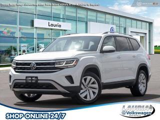 New 2021 Volkswagen Atlas 3.6 FSI Highline 4MOTION AWD for sale in PORT HOPE, ON