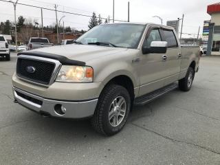 Used 2007 Ford F-150 4 RM, Super cabine multiplaces 139 po, X for sale in Sherbrooke, QC