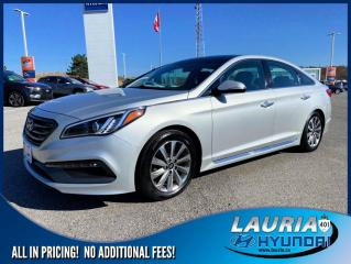 Used 2015 Hyundai Sonata 2.4L Sport - LOW KMS for sale in Port Hope, ON