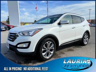 Used 2015 Hyundai Santa Fe Sport 2.0T AWD Limited - LOADED for sale in Port Hope, ON