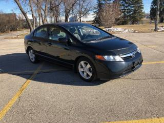 Used 2007 Honda Civic LX for sale in Winnipeg, MB