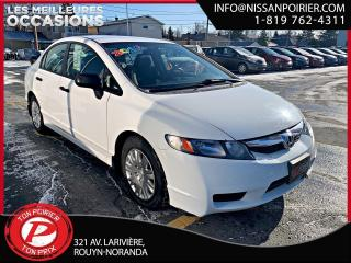 Used 2010 Honda Civic DX-G for sale in Rouyn-Noranda, QC