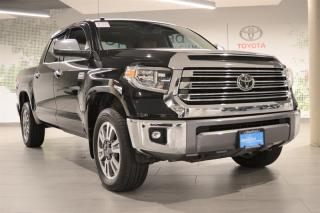 Used 2018 Toyota Tundra 4x4 CrewMax Platinum 5.7 6A for sale in Richmond, BC