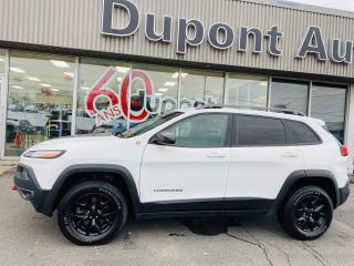 Used 2015 Jeep Cherokee Trailhawk 4 portes 4 roues motrices for sale in Alma, QC