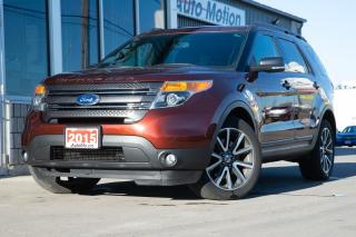 Used 2015 Ford Explorer XLT SUEDE INTERIOR PANO SUNROOF BACKUP CAM AWD for sale in Chatham, ON