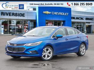 Used 2017 Chevrolet Cruze Premier Auto for sale in Brockville, ON