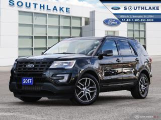 Used 2017 Ford Explorer SPORT for sale in Newmarket, ON
