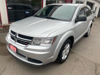 Used 2013 Dodge Journey Canada Value Pkg for sale in Hamilton, ON