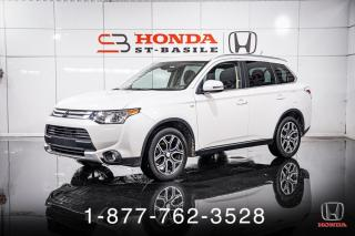 Used 2015 Mitsubishi Outlander GT + 4RM + 7 PASSAGERS + CUIR + TOIT + W for sale in St-Basile-le-Grand, QC