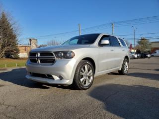 Used 2011 Dodge Durango 4WD Heat *DÉMARREUR*TOIT*CAMERA* 89$/SEM for sale in St-Jérôme, QC