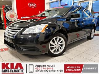 Used 2015 Nissan Sentra SV/X ** SIÈGES CHAUFFANTS / CAMÉRA for sale in St-Hyacinthe, QC