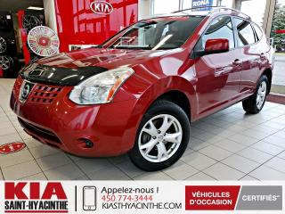 Used 2009 Nissan Rogue SL AWD ** GR ÉLECTRIQUE + A/C for sale in St-Hyacinthe, QC