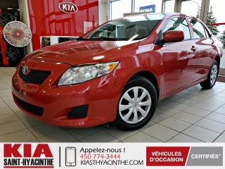Used 2010 Toyota Corolla CE ** AIR CLIMATISÉ for sale in St-Hyacinthe, QC