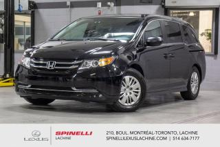 Used 2017 Honda Odyssey LX AUTO; 7 PASSAGERS CAMERA BLUETOOTH 7 PASSAGERS - CAMÉRA DE RECUL - SIÈGES AVANT ÉLECTRIQUE - for sale in Lachine, QC