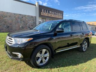 Used 2012 Toyota Highlander SPORT AWD REAR VIEW CAMERA LEATHER SUNROOF for sale in North York, ON