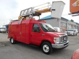 2010 Ford Econoline E450 Dually Bucket Truck RH38D 38Ft Insulated