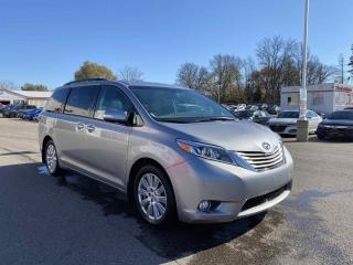 Used 2017 Toyota Sienna Limited 4dr FWD Passenger Van for sale in Brantford, ON