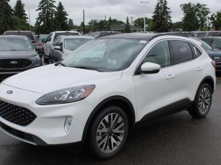 New 2020 Ford Escape Titanium HYBRID AWD | Leather | Panoramic Roof | Wireless Charging | NAV for sale in Edmonton, AB