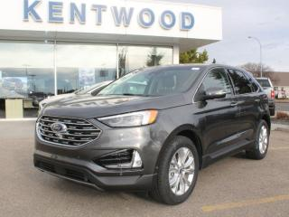 New 2020 Ford Edge Titanium AWD | Heated/Cooled Seats | NAV | Twin Panel Moonroof | Wireless Charging for sale in Edmonton, AB