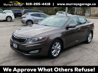 Used 2013 Kia Optima EX Turbo + for sale in Guelph, ON