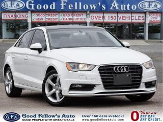 Used 2016 Audi A3 KOMFORT 1.8L TURBO, LEATHER & POWER SEATS, SUNROOF for sale in Toronto, ON