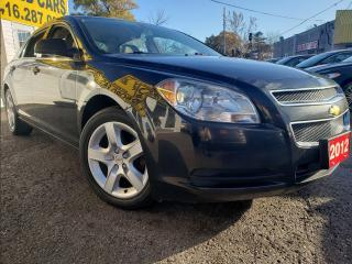 Used 2012 Chevrolet Malibu Power Group/Power Driver Seat/LS for sale in Scarborough, ON