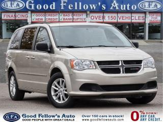 Used 2016 Dodge Grand Caravan SXT STOW & GO, FOLD-AWAY SEATING, 7PASS, BLUETOOTH for sale in Toronto, ON
