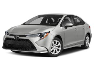 New 2021 Toyota Corolla LE CVT with upgrade package for sale in Portage la Prairie, MB