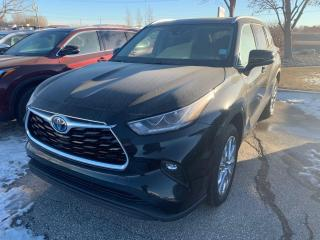 New 2021 Toyota Highlander Hybrid Limited AWD for sale in Portage la Prairie, MB