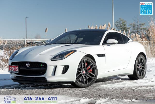 2015 Jaguar F-Type V8 R|Clean Carfax|Ontario vehicle|Service records|