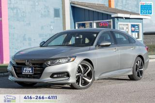 Used 2019 Honda Accord Sport|Low kms|Clean Carfax| for sale in Bolton, ON