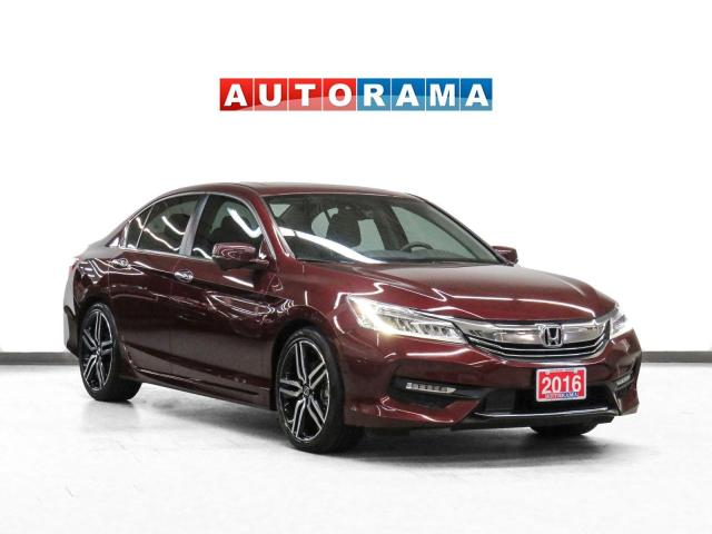 2016 Honda Accord TOURING NAVIGATION LEATHER SUNROOF BACKUP CAM