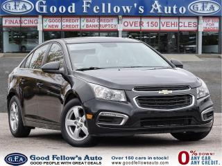 Used 2016 Chevrolet Cruze 2LT, LEATHER & HEATED SEATS, SUNROOF, BACKUP CAM for sale in Toronto, ON