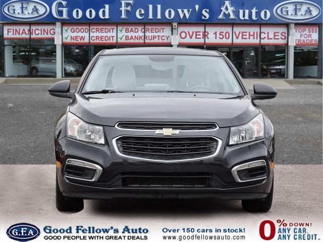 2016 Chevrolet Cruze 2LT, LEATHER & HEATED SEATS, SUNROOF, BACKUP CAM