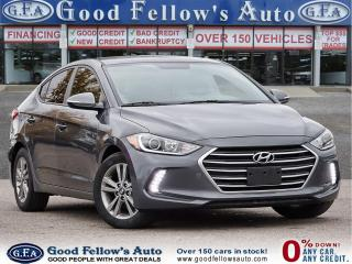 Used 2017 Hyundai Elantra GL MODEL, BLIND SPOT MONITORING, REARVIEW CAMERA for sale in Toronto, ON