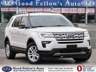Used 2018 Ford Explorer XLT MODEL, 360° CAMERA, 4WD, 7PASS, LEATHER SEATS for sale in Toronto, ON