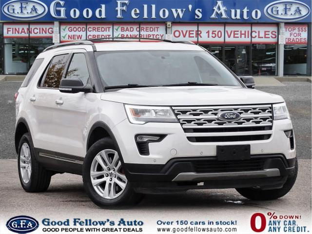 2018 Ford Explorer XLT MODEL, 360° CAMERA, 4WD, 7PASS, LEATHER SEATS