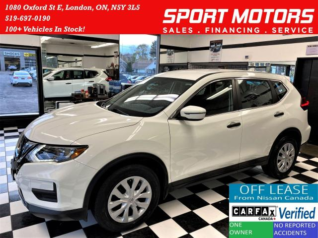 2017 Nissan Rogue S Safety Shield+Blind Spot+Camera+ACCIDENT FREE