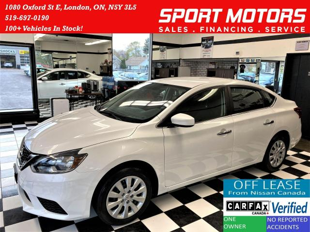 2017 Nissan Sentra SV+Camera+Heated  Seats+New Brakes+ACCIDENT FREE