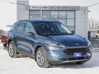 New 2020 Ford Escape Titanium Hybrid PREMIUM PKG | PANO ROOF | NAV for sale in Winnipeg, MB
