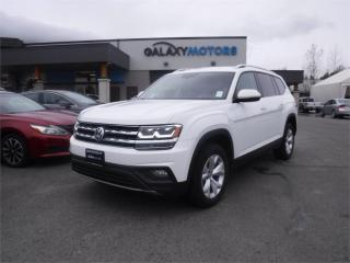 Used 2018 Volkswagen Atlas COMFORTLINE-AWD, LEATHER, HEATED SEATS for sale in Duncan, BC