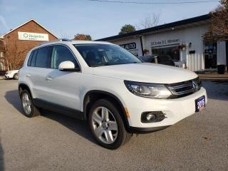 Used 2016 Volkswagen Tiguan COMFORTLINE for sale in Waterdown, ON