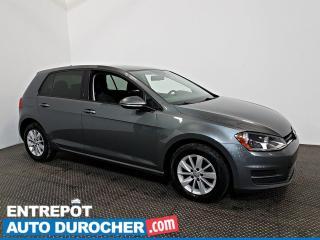 Used 2016 Volkswagen Golf Trendline AIR CLIMATISÉ - Caméra de Recul for sale in Laval, QC