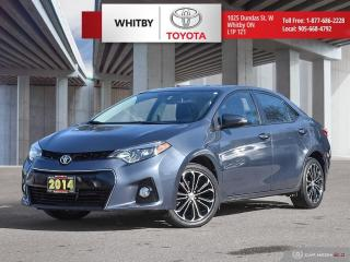 Used 2014 Toyota Corolla S for sale in Whitby, ON