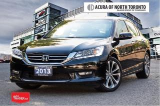 Used 2013 Honda Accord Sedan L4 Touring CVT LOW KM  Navigation for sale in Thornhill, ON