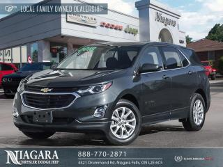 Used 2018 Chevrolet Equinox LT | LOCAL LEASE BUYOUT for sale in Niagara Falls, ON