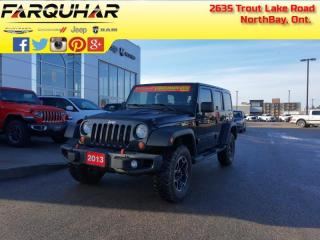 Used 2013 Jeep Wrangler Unlimited Rubicon 10th Anniversary for sale in North Bay, ON