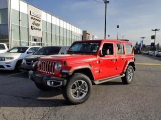 New 2021 Jeep Wrangler Unlimited NAVI POWERTOP LED LIGHTS COLD WEATHER for sale in Pickering, ON