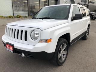 Used 2016 Jeep Patriot High Altitude 4x4 Automatic w/Leather, Sunroof, Re for sale in Hamilton, ON