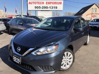 Used 2016 Nissan Sentra S Auto Bluetooth/Cruise/Keyless Entry&GPS*$39/wkly for sale in Mississauga, ON